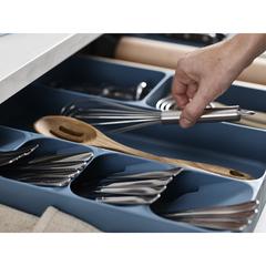 Органайзер Joseph Joseph для столовых приборов и кухонной утвари DrawerStore Sky 85183