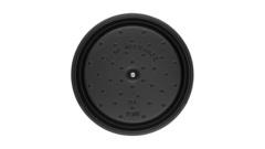 Кокот Staub круглый, 28 см, 6,7 л, черный 1102825