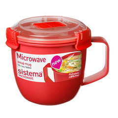 Кружка суповая 565 мл Sistema MICROWAVE 1142*