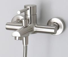 Wern 4201 Смеситель для ванны с коротким изливом WasserKRAFT Серия Wern 4200