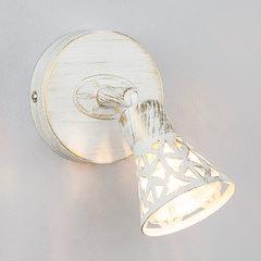 Настенный светильник Eurosvet Alaska 20027/1 белый с золотом