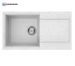 Кухонная мойка из искусственного гранита (Tetogranit) OMOIKIRI Sakaime 78-EV (4993197)