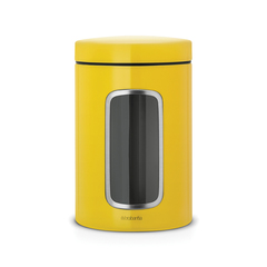 Контейнер для сыпучих продуктов с окном 1,4 л Brabantia 486043