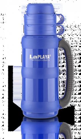 Термос LaPlaya Traditional 35-180 (1,8 литра) со стеклянной колбой, синий