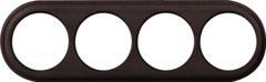 Рамка на 4 поста (венге) WL15-frame-04 Werkel