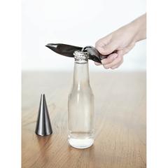 Открыватель для бутылок на подставке Tipsy титан Umbra 1013387-624
