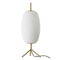 Лампа настольная Silk, D20 см, белое опаловое стекло Frandsen 2577_01184011