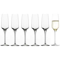 Набор из 6 фужеров для шампанского 188мл Stolzle Experience Flute Champagne*