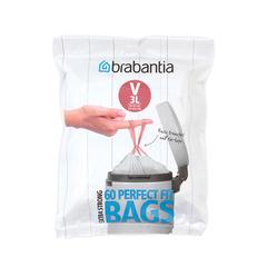 Пакет пластиковый 3 л 60 шт Brabantia 116803
