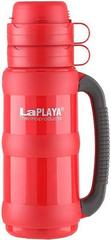 Термос LaPlaya Traditional 35-100 (1 литр) со стеклянной колбой, красный 560008