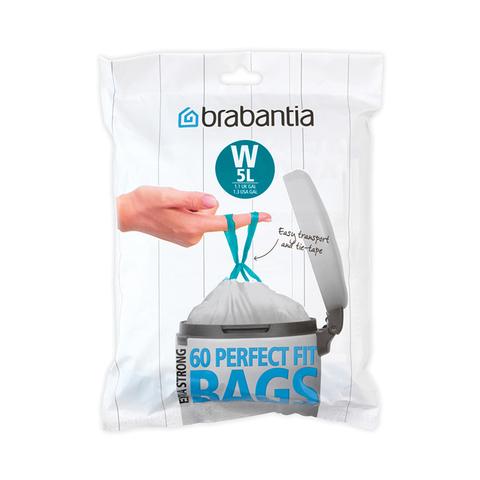 Пакет пластиковый 5 л 60 шт Brabantia 116827