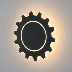 Gear L LED черный Настенный светодиодный светильник Elektrostandard Gear Gear L LED черный (MRL LED 1100)