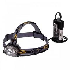 Фонарь светодиодный налобный Fenix HP30R серый, 1000 лм, аккумулятор HP30Rgrey