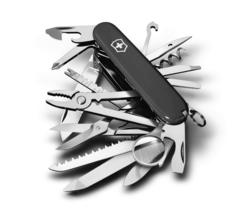 Нож Victorinox SwissChamp, 91 мм, 33 функции, черный* 1.6795.3