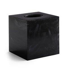 Бокс для салфеток (салфетница) Kassatex Ducale Black ADE-TH-BW
