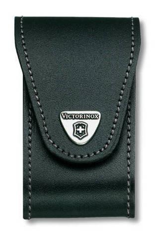 Чехол черный Victorinox, для Swiss Army Knives or EcoLine 91 mm, толщина ножа 5-8 уровней MV-4.0521.32