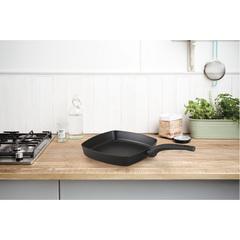 Сковорода-гриль антипригарная 26х26 см Brabantia Heat Matt Black 30003715