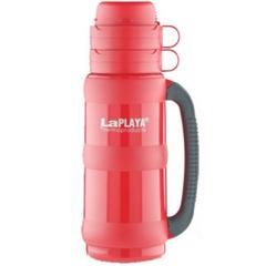 Термос LaPlaya Traditional 35-50 (0,5 литра) со стеклянной колбой, красный 560003