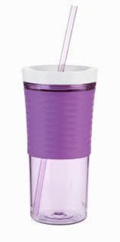 Стакан-шейкер Contigo (0.53 литра) фиолетовый
