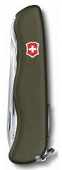 Нож Victorinox Forester, 111 мм, 12 функций, зеленый 0.8363.4R