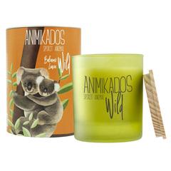 Свеча ароматическая Wild Koala Бальзамические листья 40 ч Ambientair VV040BLAW