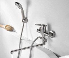 Wern 4202L Смеситель для ванны с длинным изливом WasserKRAFT Серия Wern 4200