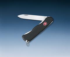 Нож Victorinox Sentinel, 111 мм, 4 функции, с фиксатором лезвия, черный* 0.8413.3