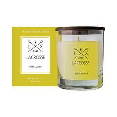 Свеча ароматическая в стекле Lacrosse Амбра 40 ч Ambientair VV040ASLC