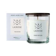 Свеча ароматическая в стекле Lacrosse Кислород 40 ч Ambientair VV040OXLC