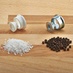 Мельница для соли деревянная 22 см BISETTI Firenze 6250MSLM