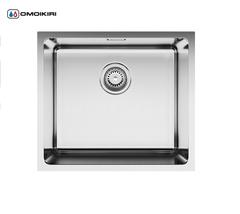 Кухонная мойка из нержавеющей стали OMOIKIRI Tadzava 49-IN (4993074)