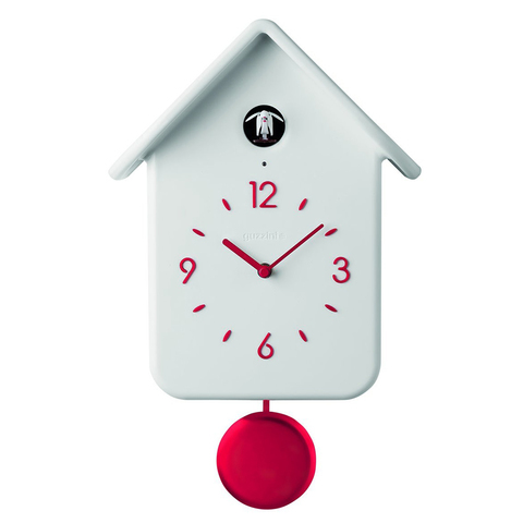 Часы с кукушкой QQ белые Guzzini 16860211