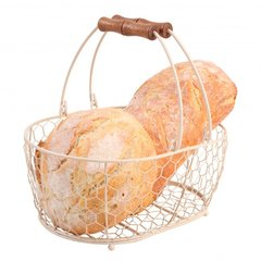 Корзина овальная средняя Provence in cream T&G 23036