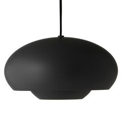 Лампа подвесная Champ, D37,5 см, черная матовая Frandsen 158165001