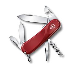 Нож Victorinox Evolution S101, 85 мм, 12 функций, красный 2.3603.SE