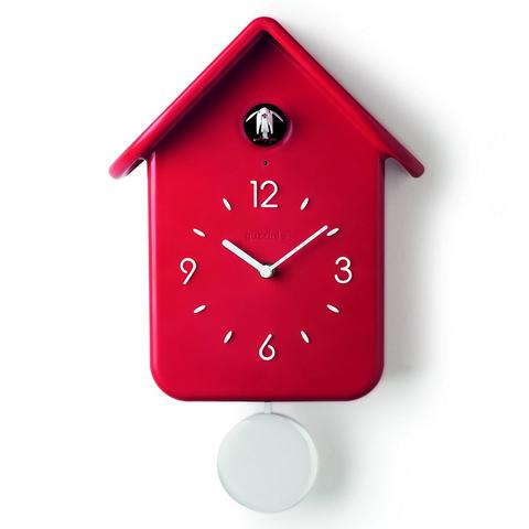 Часы с кукушкой QQ красные Guzzini 16860255