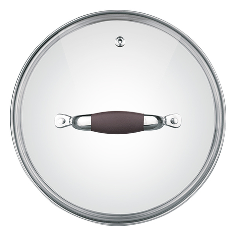Крышка стеклянная Rondell Mocco&Latte 26 см RDA-534