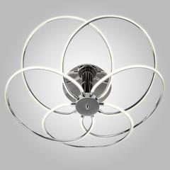 Светодиодный потолочный светильник Eurosvet Infinity 90039/5 хром