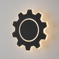 Gear M LED черный Настенный светодиодный светильник Elektrostandard Gear Gear M LED черный (MRL LED 1095)