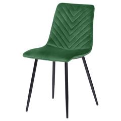 Стул Berg Clifford, велюр, зеленый BECH-CL10863