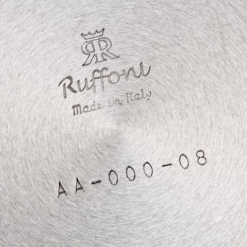 Сковорода 26см, крышка с посеребренной декорированной ручкой, RUFFONI Opus Prima арт. M26 Ruffoni