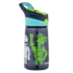 Детская бутылочка Contigo Striker (0.42 литра), роботы, синяя contigo0347