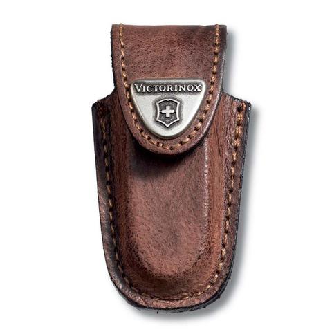 Чехол кожаный Victorinox, для ножей-брелоков 58 мм, коричневый MV-4.0532