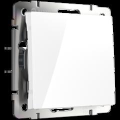 Перекрестный переключатель одноклавишный (белый) WL01-SW-1G-C Werkel