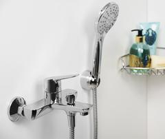 Lippe 4501 Смеситель для ванны с коротким изливом WasserKRAFT Серия Lippe 4500