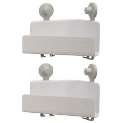 Набор Joseph Joseph из 2 угловых органайзеров для душа EasyStore белый 70550