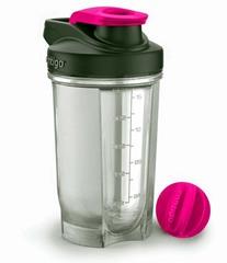 Фитнес-бутылка Contigo (0.59 литра) розовая contigo0388