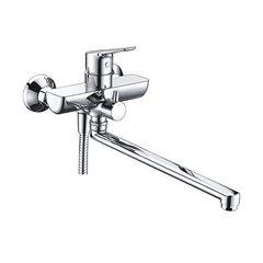 Lippe 4502L Смеситель для ванны с длинным изливом WasserKRAFT Серия Lippe 4500