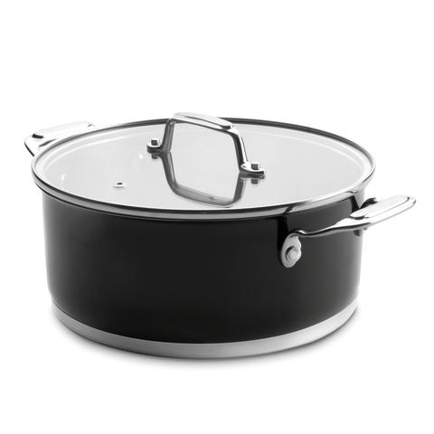 Кастрюля 16см (1,6 л) LACOR Cookware Black арт. 44016