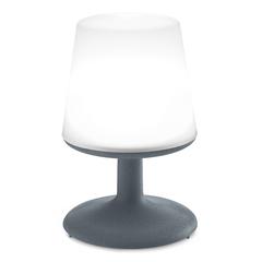 Лампа настольная LIGHT TO GO Organic темно-серая Koziol 3799673